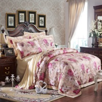 婚庆全棉提花床上用品四件套 床品套件
