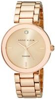 Anne Klein AK/1362RGRG 女款 玫瑰金镶钻手表