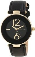 Anne Klein AK/1064BKBK 女款(黑色)表带腕表