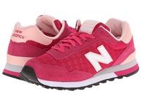 热New balance/NB 女鞋休闲慢跑鞋515运动鞋织物 新款WL515PHG-0B 红色 37.5热New balance/NB 女鞋休闲慢跑鞋515运动鞋织物 新款WL515PHG-0B