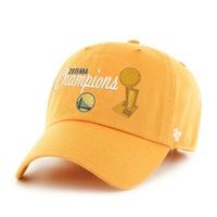 金州勇士 2015 NBA 总决赛冠军帽 (金色)