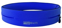 FlipBelt(深蓝色)世界上最好的跑步腰带&健康运动腰带