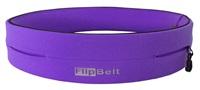 FlipBelt(紫色)世界上最好的跑步腰带&健康运动腰带