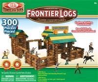 Ideal Frontier Logs 经典积木建筑 活动人偶 (300块)