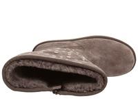 UGG Rockstar 女款麂皮铆钉装饰侧拉链雪地靴