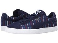 彪马(PUMA) Suede Striped - 男子休闲运动板鞋专柜正品 标准38.5/US6.5