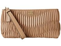 COACH Madison Gathered Leather Zip Clutch 美国代购 小香风