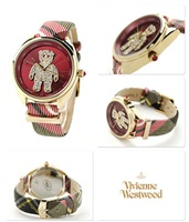 美国代购正品 Vivienne Westwood薇薇安 Crazy Bear小熊女式手表