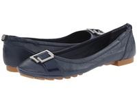 代购专柜女单鞋CK凯文克莱 calayla navy leather