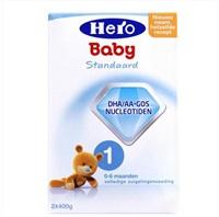 荷兰本土美素Hero baby1段婴儿配方奶粉