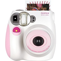 【圣诞免息】富士(FUJIFILM)趣奇(checky)instax mini7s相机 (蜜粉心情)